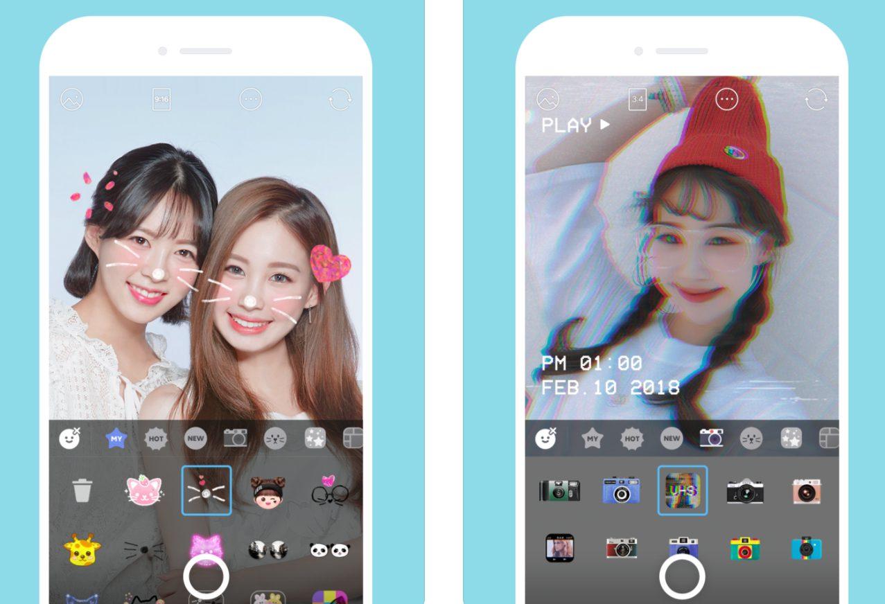 Thêm hiệu ứng máy ảnh mới: chạm vào biểu tượng chiếc gậy thần (Magic Stick) trên màn hình chụp ảnh để thêm các hiệu ứng cho toàn bộ khung hình như tuyết ...