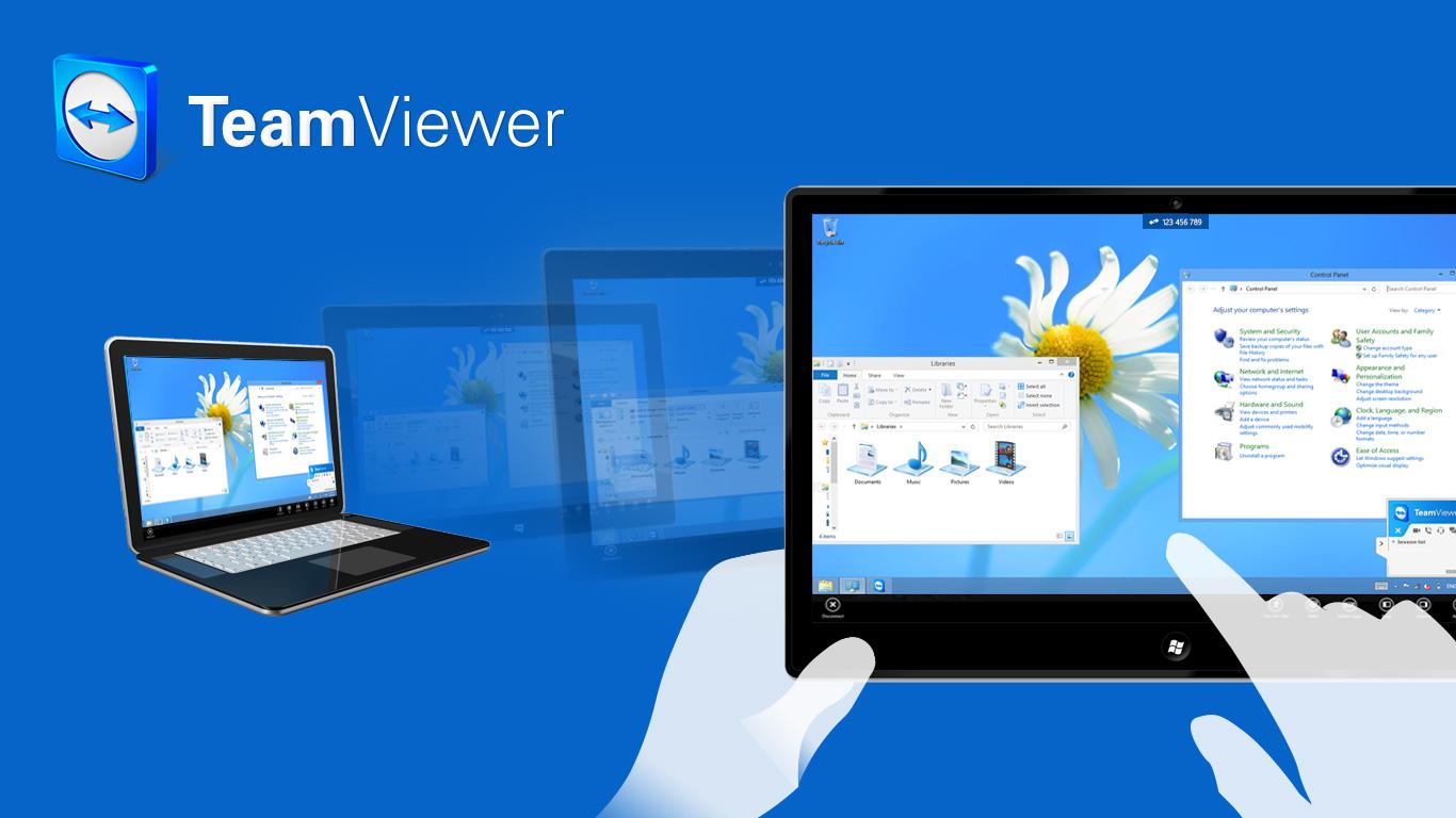 Phần mềm hỗ trợ TeamViewer tiện ích