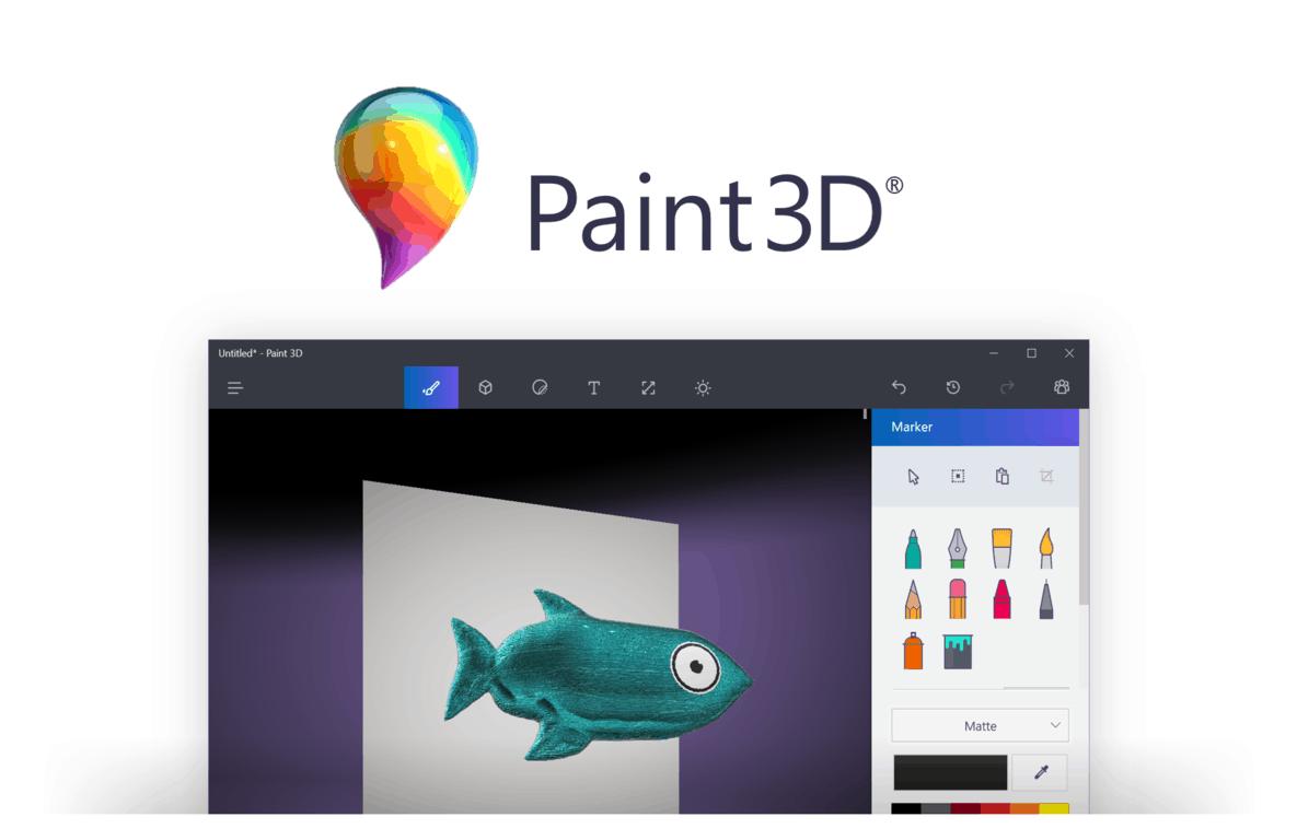11 Thủ thuật dành cho Paint 3D