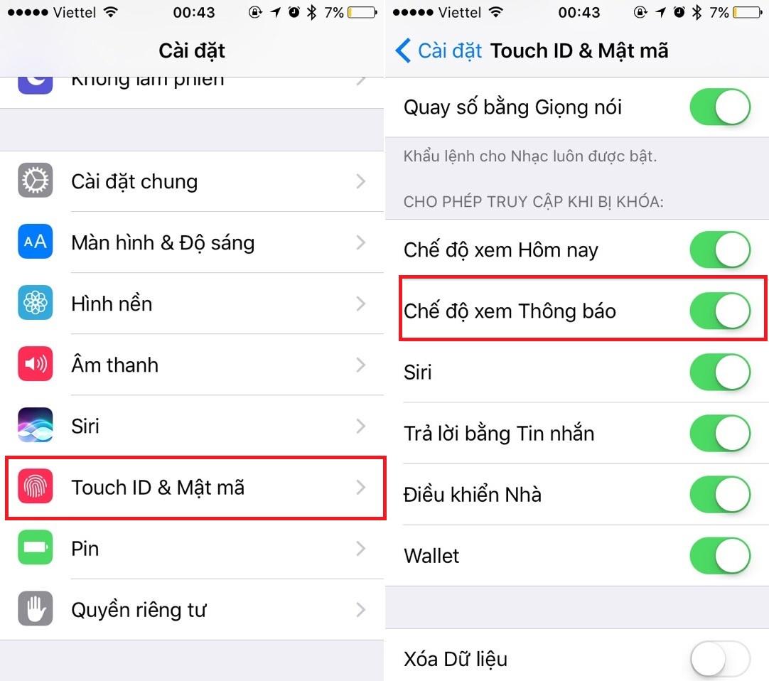 Tránh đọc trộm bằng cách bảo mật tin nhắn trên iPhone