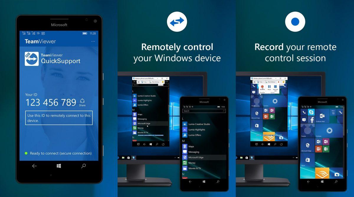 WP] Điều khiển điện thoại với TeamViewer QuickSupport