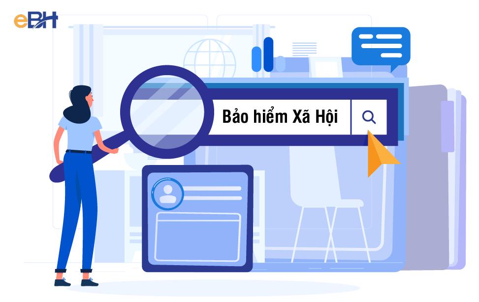 Tra cứu quá trình tham gia BHXH miễn phí thông qua Cổng thông tin điện tử của Cơ quan BHXH Việt Nam.