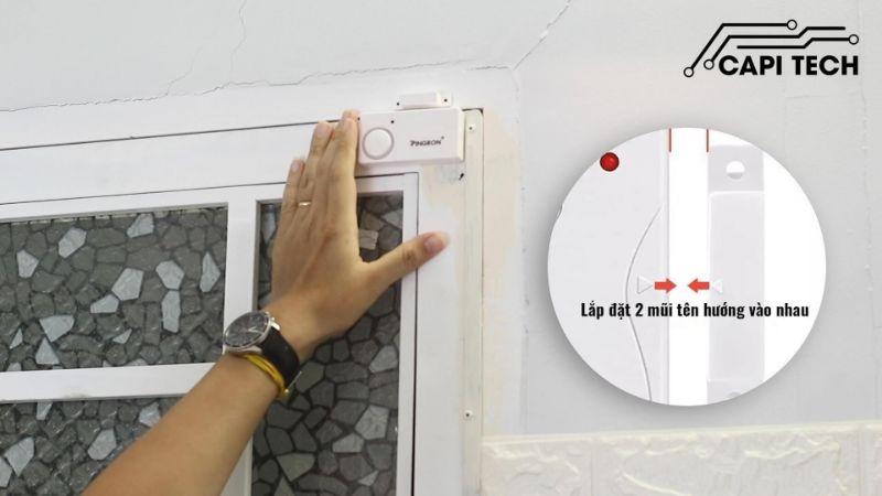 Chuông gắn cửa là thiết bị an ninh báo trộm được sử dụng phổ biến hiện nay