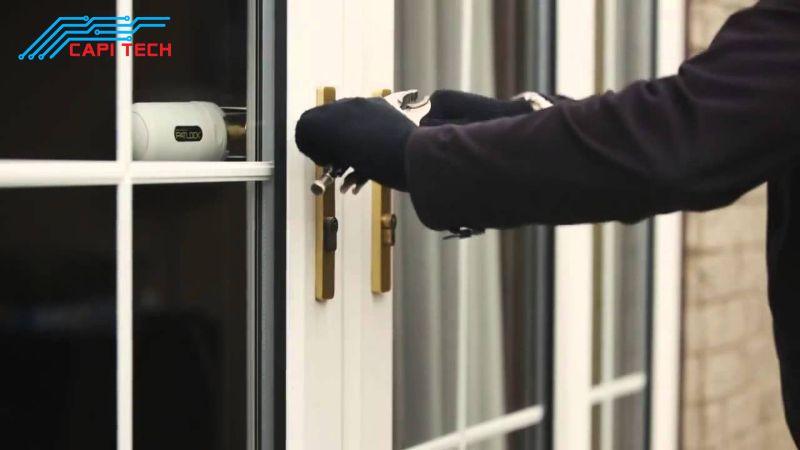 Nên lựa chọn địa chỉ uy tín để mua thiết bị chống trộm gắn cửa