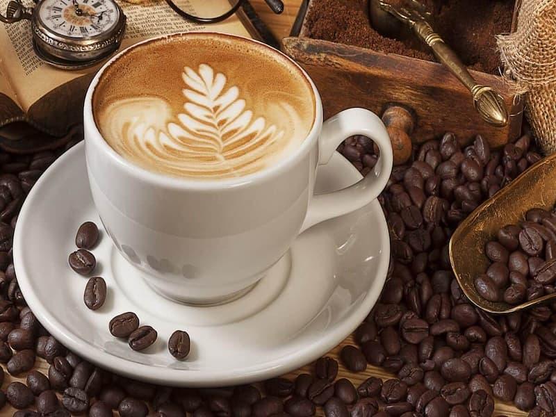 Hình ảnh cốc cà phê đã hoàn thành